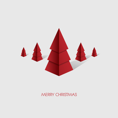 xmas tree: Low poly christmas tree background. Holiday card template. Modern polygonal design. Eps10 vector illustration. Illustration