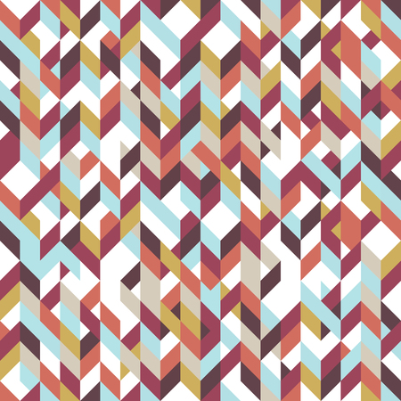 low floor: Patchwork pattern bohemian style with geometric polygonal retro decorative ornaments. Eps10 vector illustration.