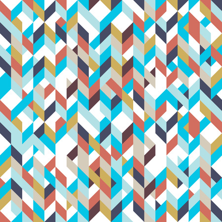 patchwork pattern: Patchwork pattern bohemian style with geometric polygonal retro decorative ornaments. Illustration
