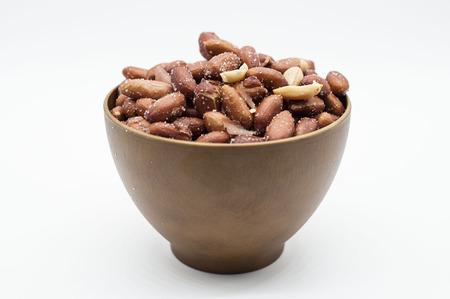ピーナッツクローズアップ食品