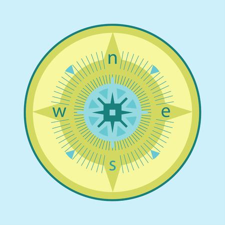 inlay: compass inlay