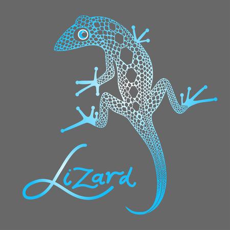 nimble: decorative lizard