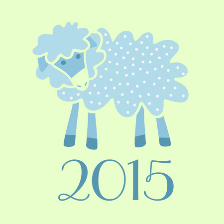 bleating: symbol 2015 lamb