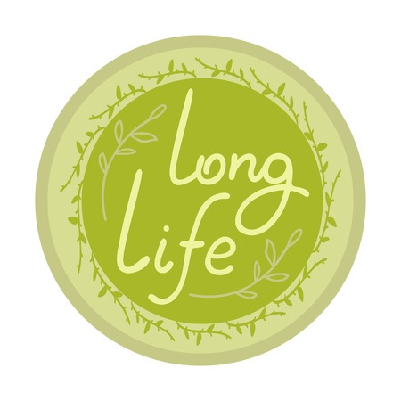 long life emblem for eco product