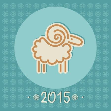 kinky: decorative Christmas sheep