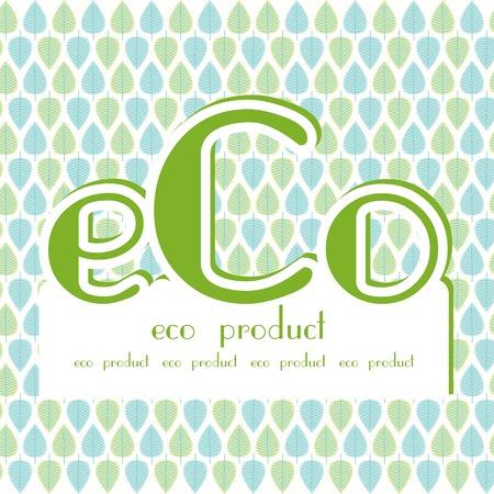 haltbarkeit: eco Produkt blau gr�ne Bl�tter Hintergrund
