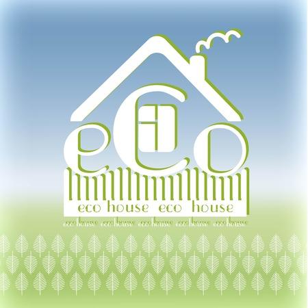 materiali edili: sfondo verde materiali da costruzione eco emblema cielo