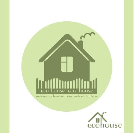 haltbarkeit: Baumaterialien Eco-Emblem gr�nen Kreis isoliert
