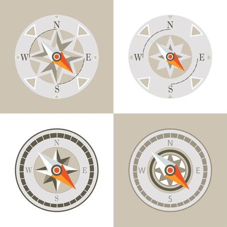 deviation: decorative compass arrow set design