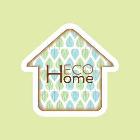 durability: emblem of eco house natural materials natural design