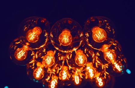 leds: Lámparas de incandescencia Leds en la oscuridad