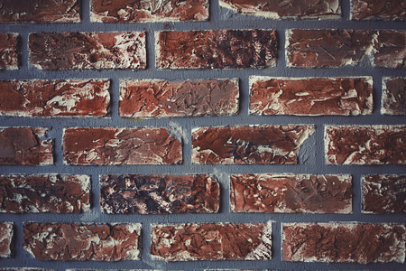 Old grunge brick wall background. place for text Stock Photo