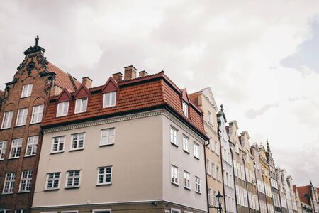 Old building in the city center. Gdansk, Poland Stock Photo