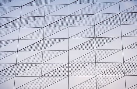 abstract geometric design of modern architecture Stock Photo