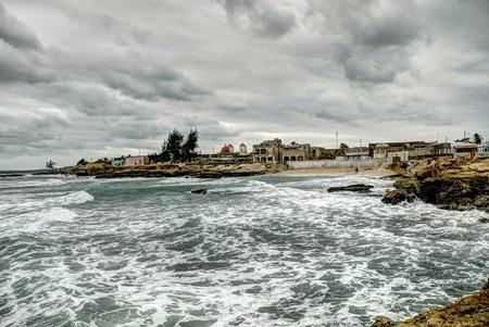 holguin: Coastal town of Gibara, north of the province of Holguin, Cuba. Stock Photo