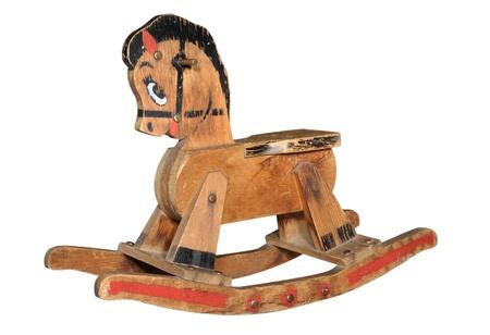 rocking: Antique Wooden Rocking Horse
