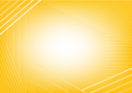 Abstract yellow stripe background, Vector illustration