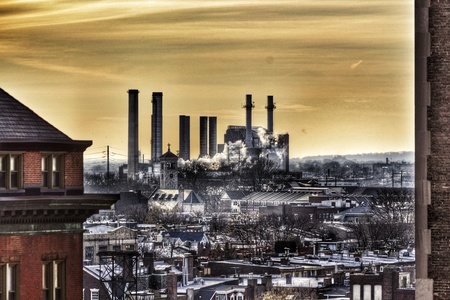 industry: A Factory on the outskirts of Philadelphia