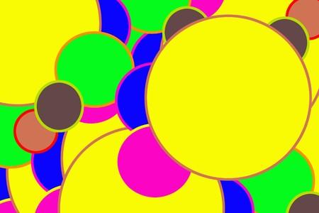 crazy colour background Stock Photo - 3982988