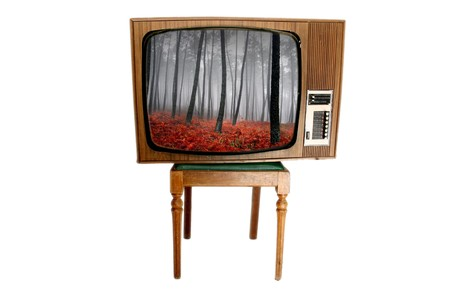 old vintage tv Stock Photo - 4010700