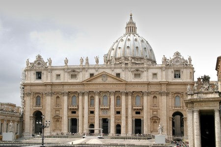 st peter: St. Peters Basilica, Rome, Italy