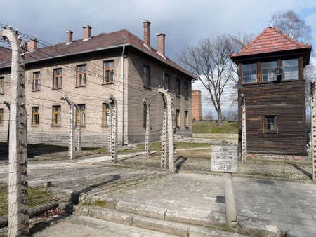 Auschwitz concentration camp in Poland Stock Photo - 4881691