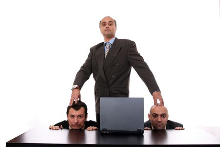 business man, boss, business photo Stock Photo