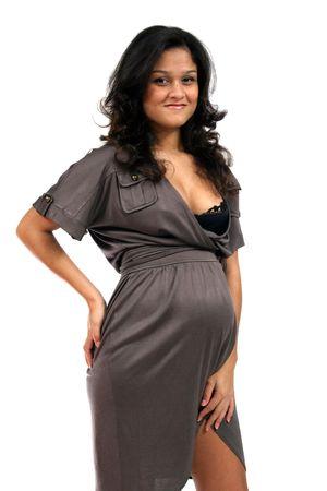 womanlike: photo of beautiful pregnant female