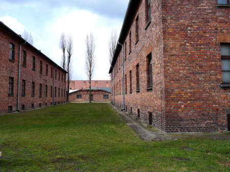 Auschwitz concentration camp in Poland Stock Photo - 5886424