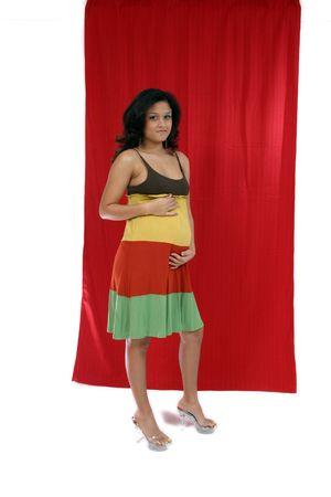 beautiful pregnant female photo