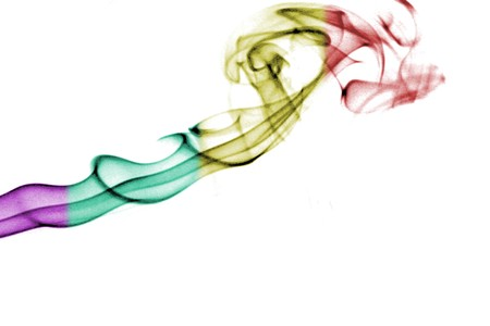 notional: smoke black and white, color smoke, abstract photo