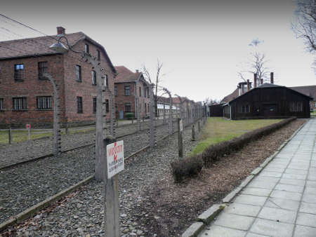 Auschwitz concentration camp in Poland Stock Photo - 7768219
