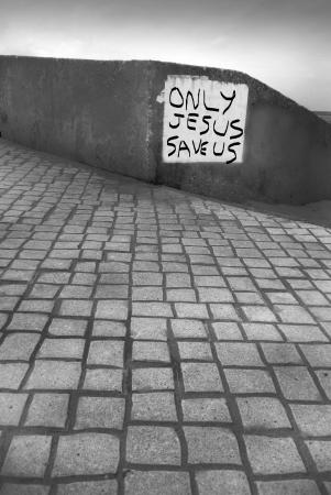 only Jesus save us, religion photo