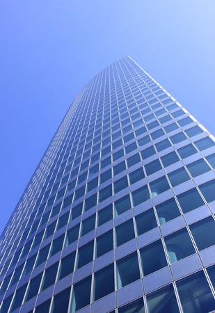 skyscraper, tower, taken from below, Business Centre