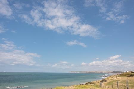 le cap: paisaje de la costa de �palo en Francia