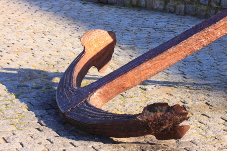 great and ancient marine anchor to anchor boats