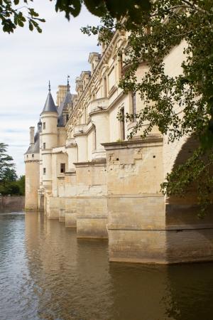 castle of  chenonceau  loire