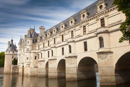 loire: castle of  chenonceau  loire Editorial