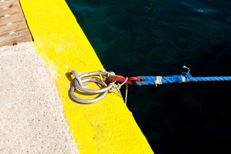 the mooring: ring docking and mooring