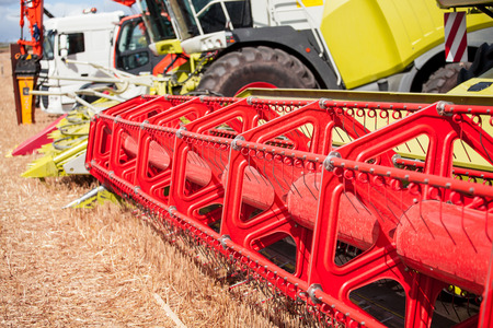 combine harvester: agricultural equipment
