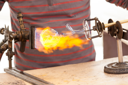 glass-blower photo