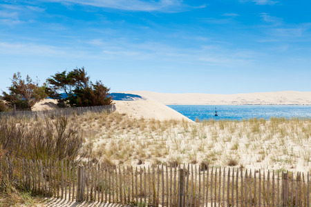 entrance to the basin of Arcachon to Cap Ferret