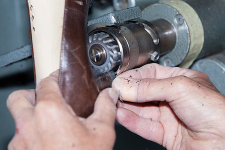 outsole: the shoemaker repairs a shoe