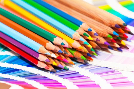 coloured pencil: colored pencils and color chart of all colors