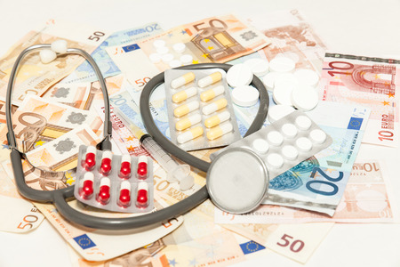 health medications money photo