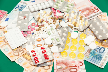 high cost of healthcare: health medications money