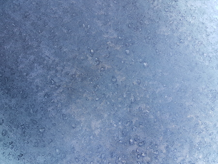 Frozen Frost Pattern Glass Background 스톡 콘텐츠