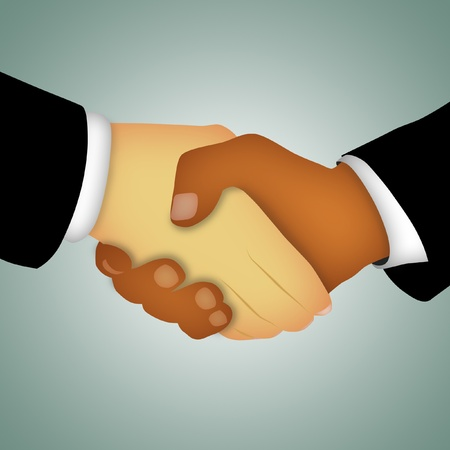 Hands of businessmen shaking in agreement. Stock Photo - 8451510