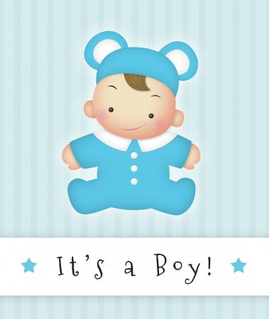 delivery boy: Its a Boy Stock Photo