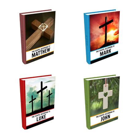 Bible Books - Gospel of Matthew, Mark, Luke and John